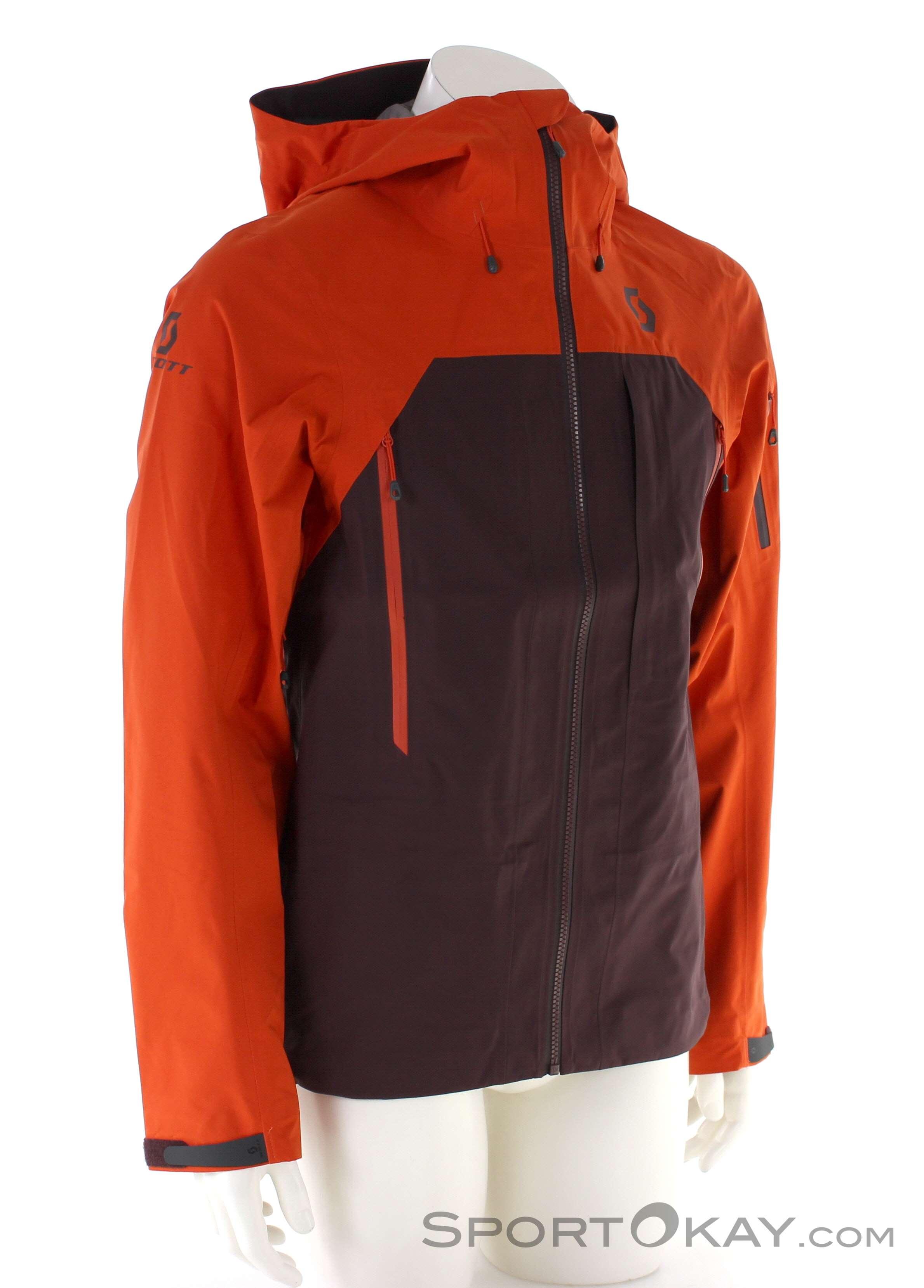 Scott Explorair 3L Mens Ski Touring Jacket Jackets