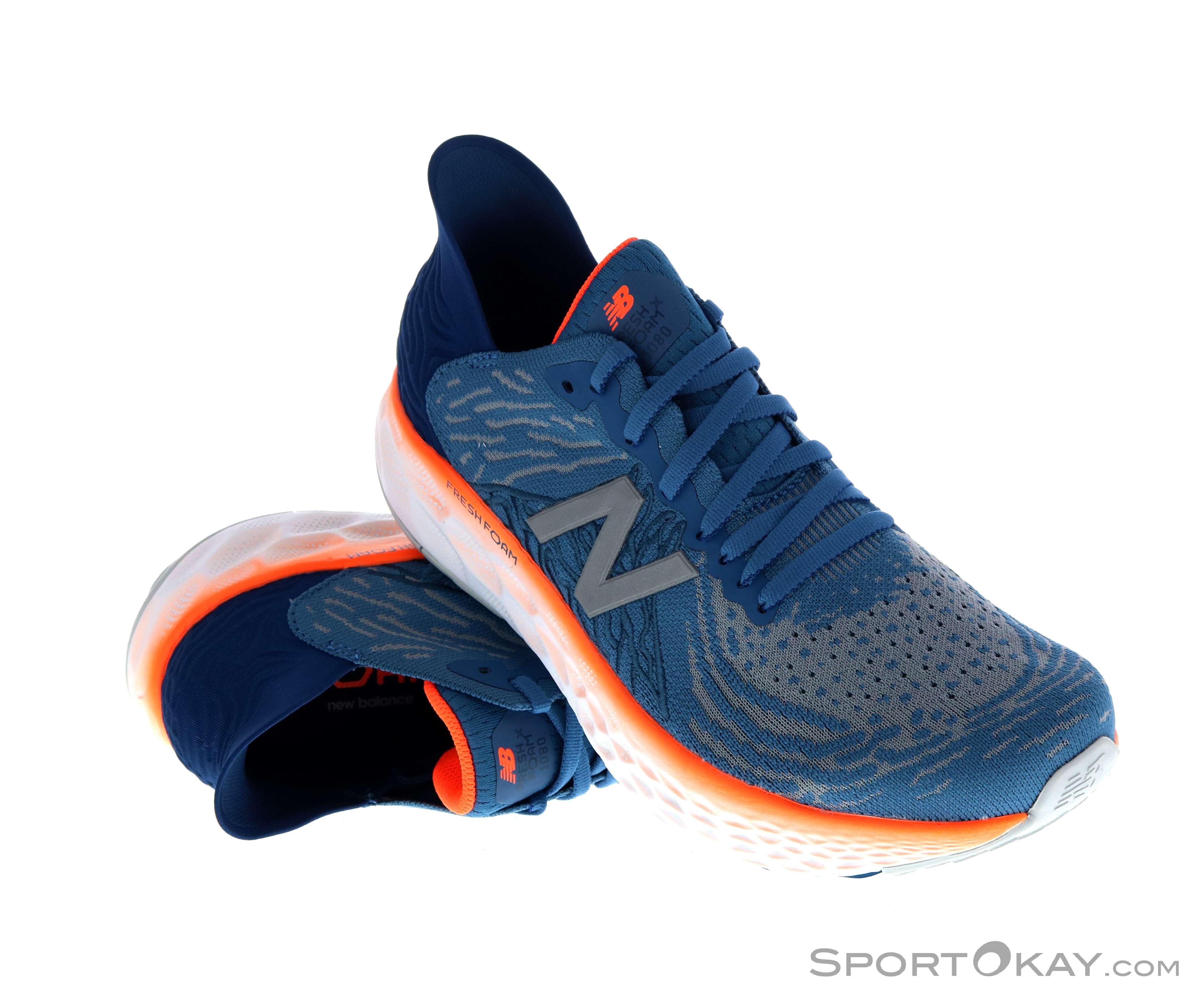 New Balance Fresh Foam 1080 V10 Mens Trail Running Shoes - Trail ...