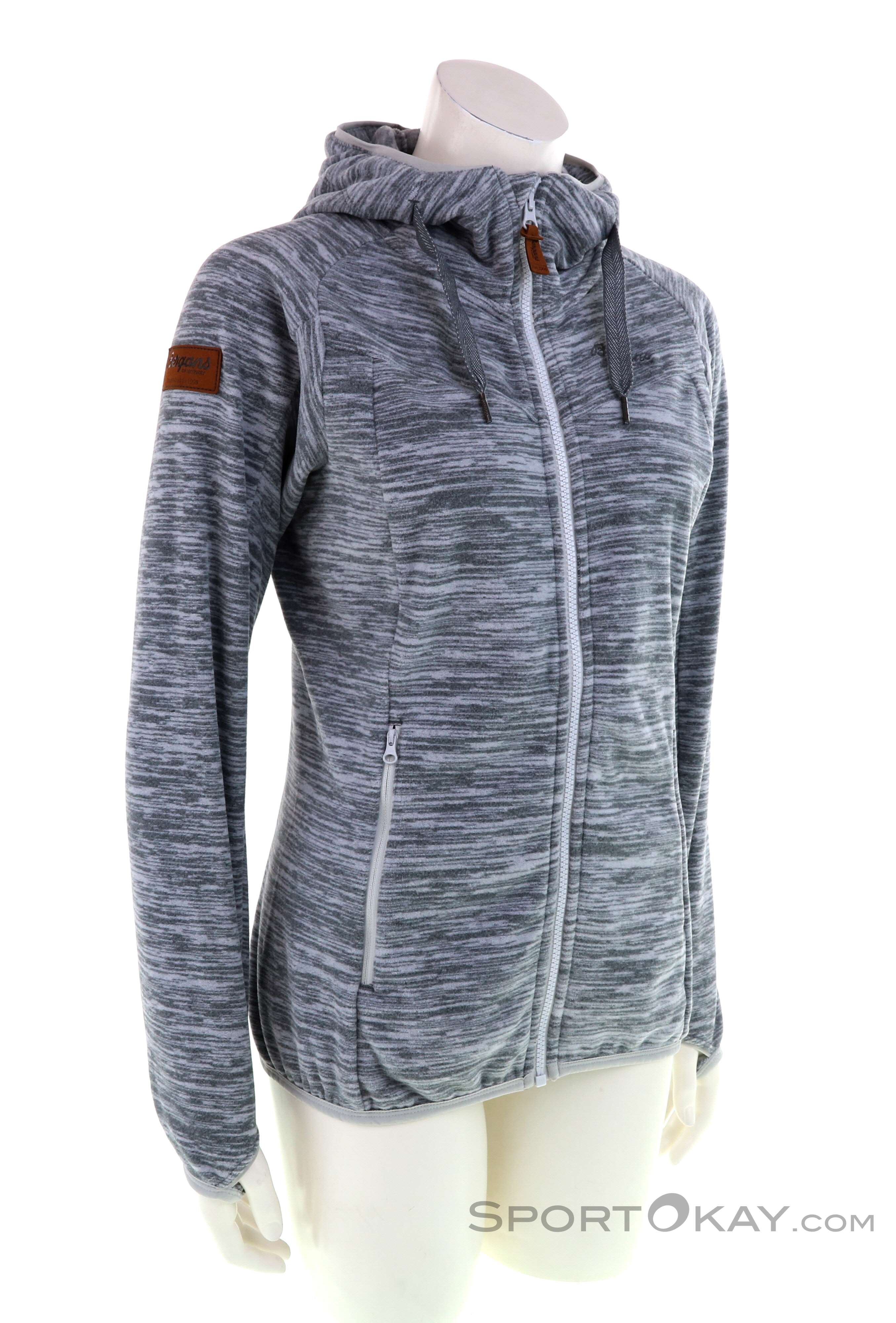 Bergans Hareid Fleece Damen Fleecejacke   Sweater ...