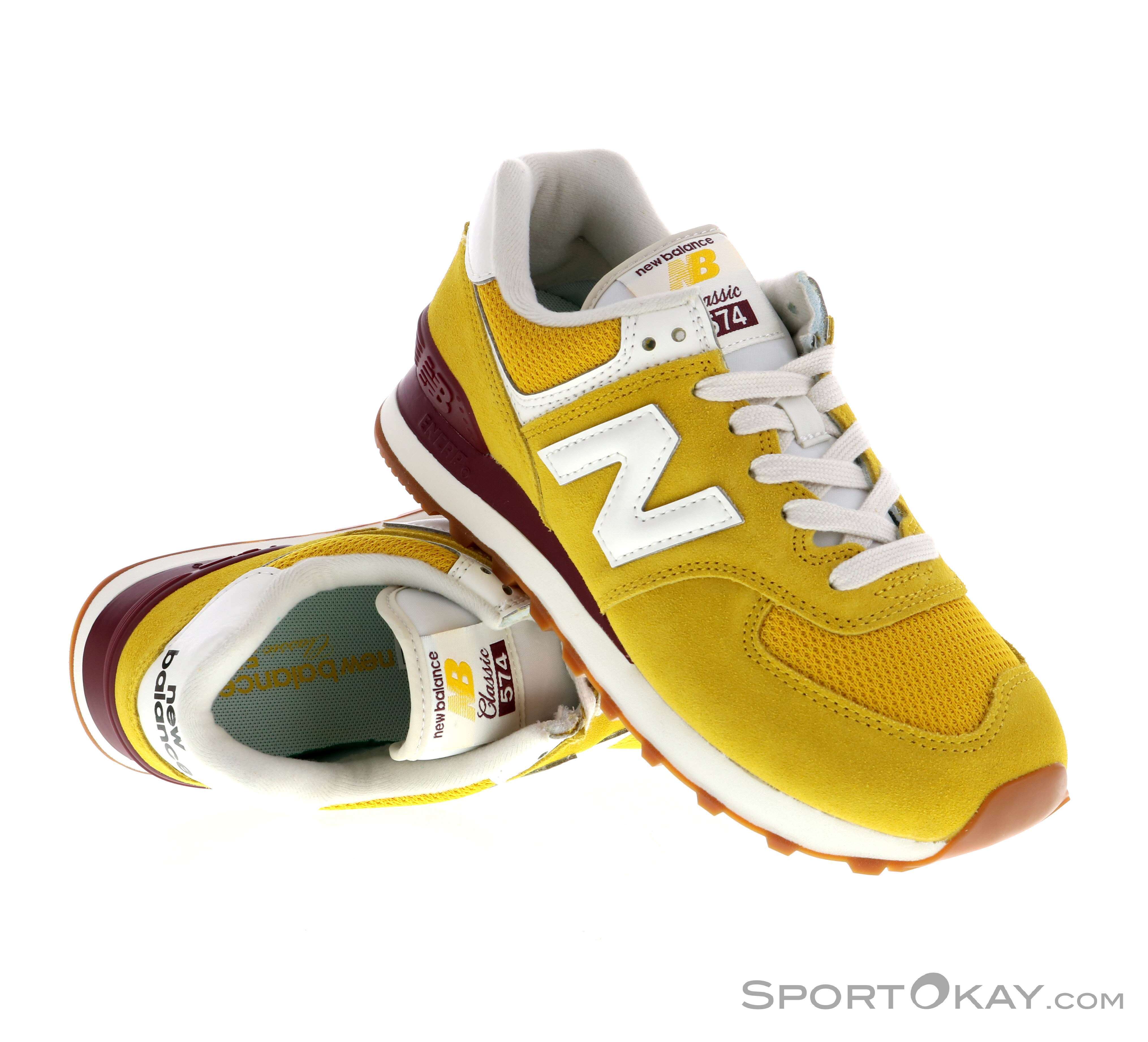 New Balance 574 Womens Leisure Shoes - Leisure Shoes - Shoes ...