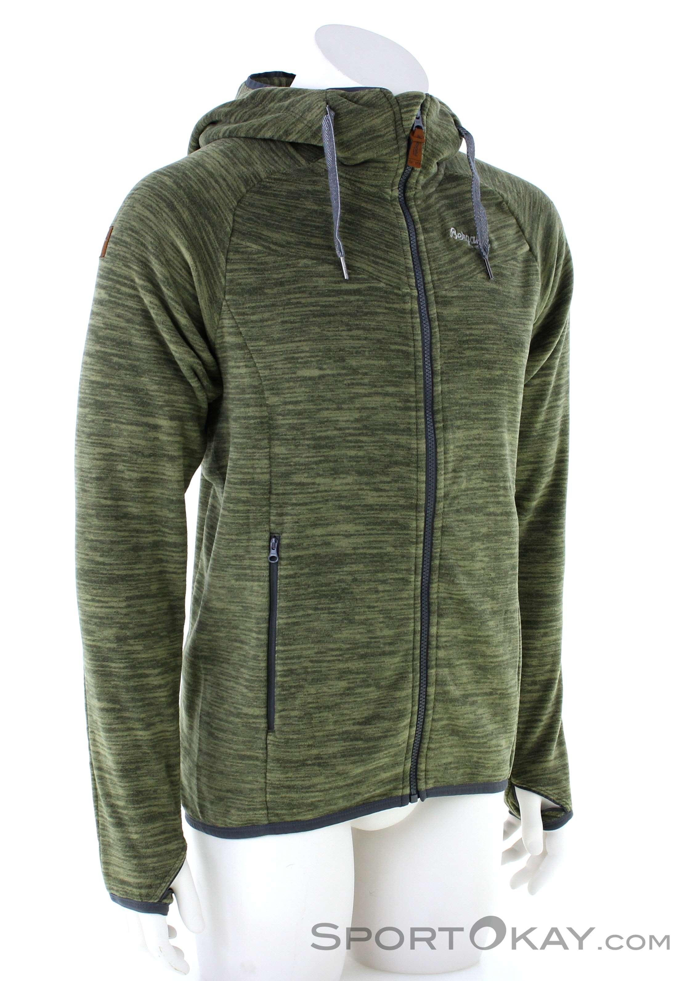 Bergans Hareid Fleece Mens Fleece Jacket   Sweaters   Outdoor ...