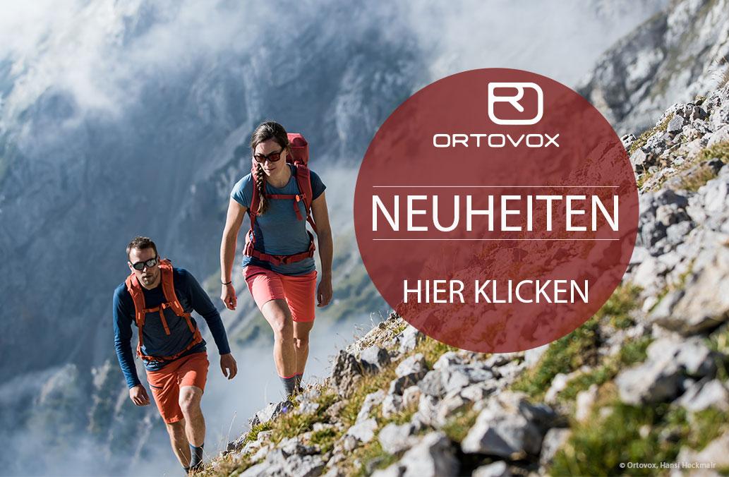 Homepage Ortovox Neuheiten