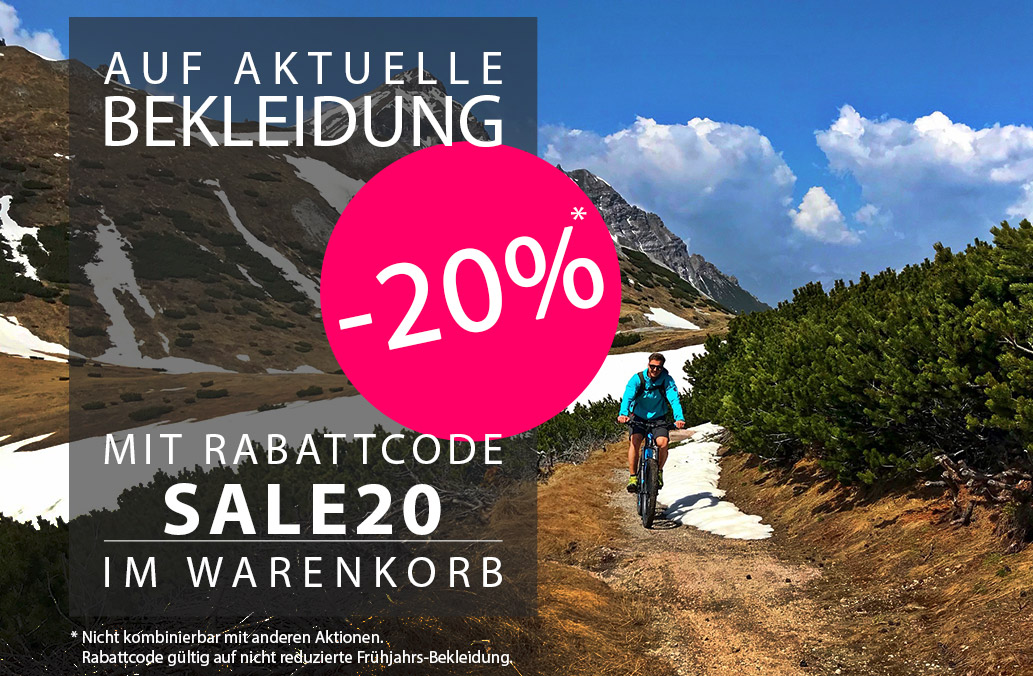 Homepage 2018-05 Bekleidung-20% SALE20 DE