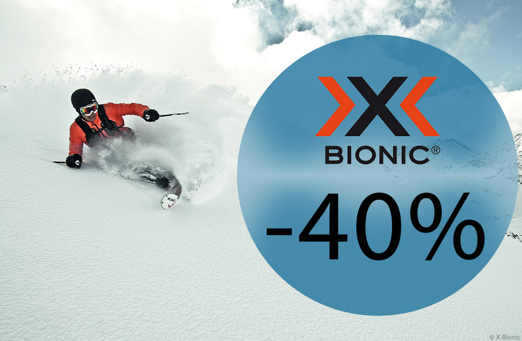 Homepage 2018-02 X-BIONIC Deals -40% DE