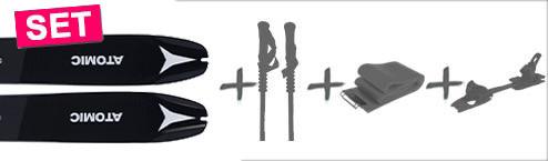 SKITOUREN ATOMIC BACKLAND 85mm bis -50% > 3er SET ab 680€ > 4er SET ab 750€