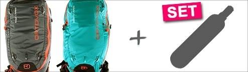 ORTOVOX AVABAG SET 2020 Airbagrucksack mit Carbon-Kartusche