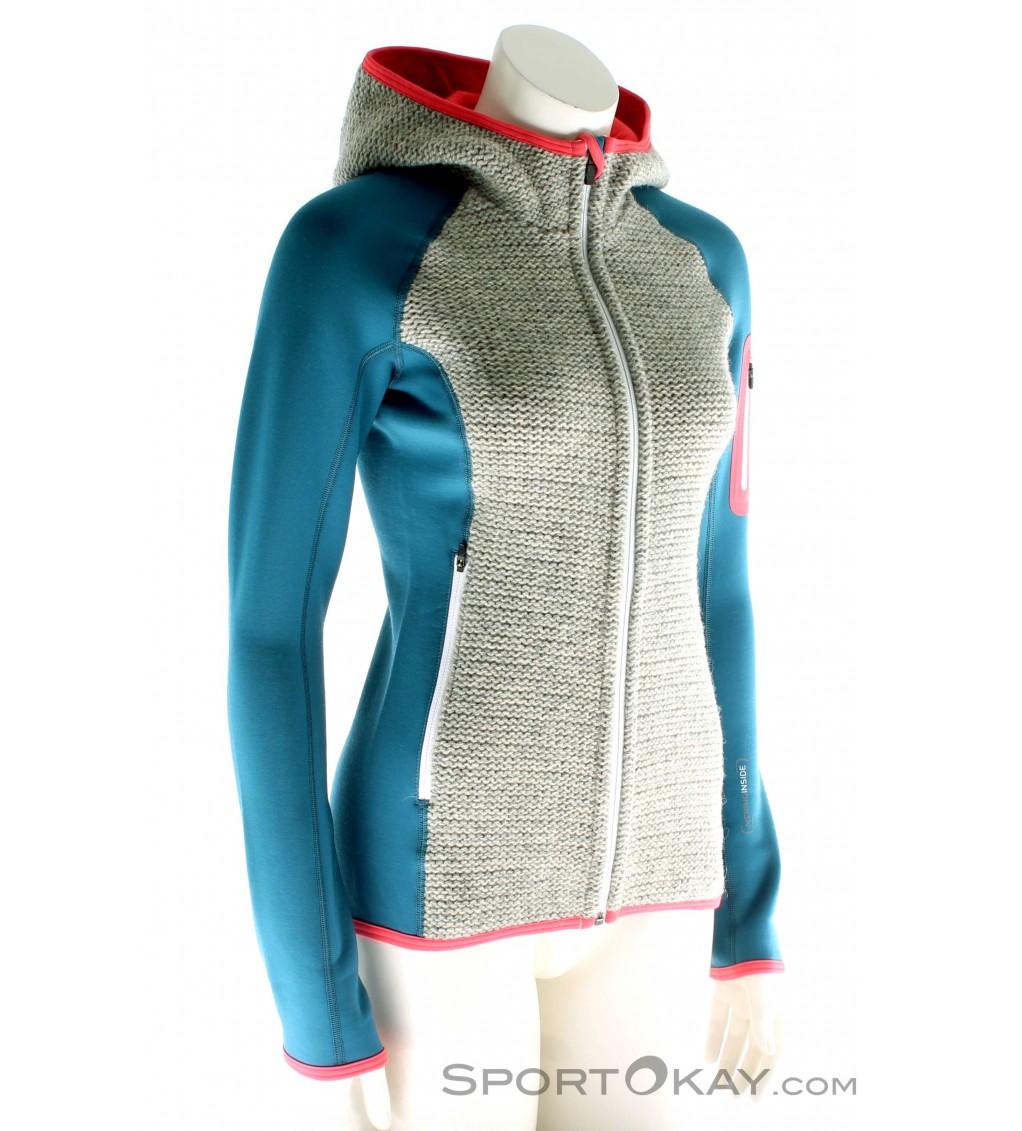 Ortovox Fleece Plus Hoody Damen Tourensweater