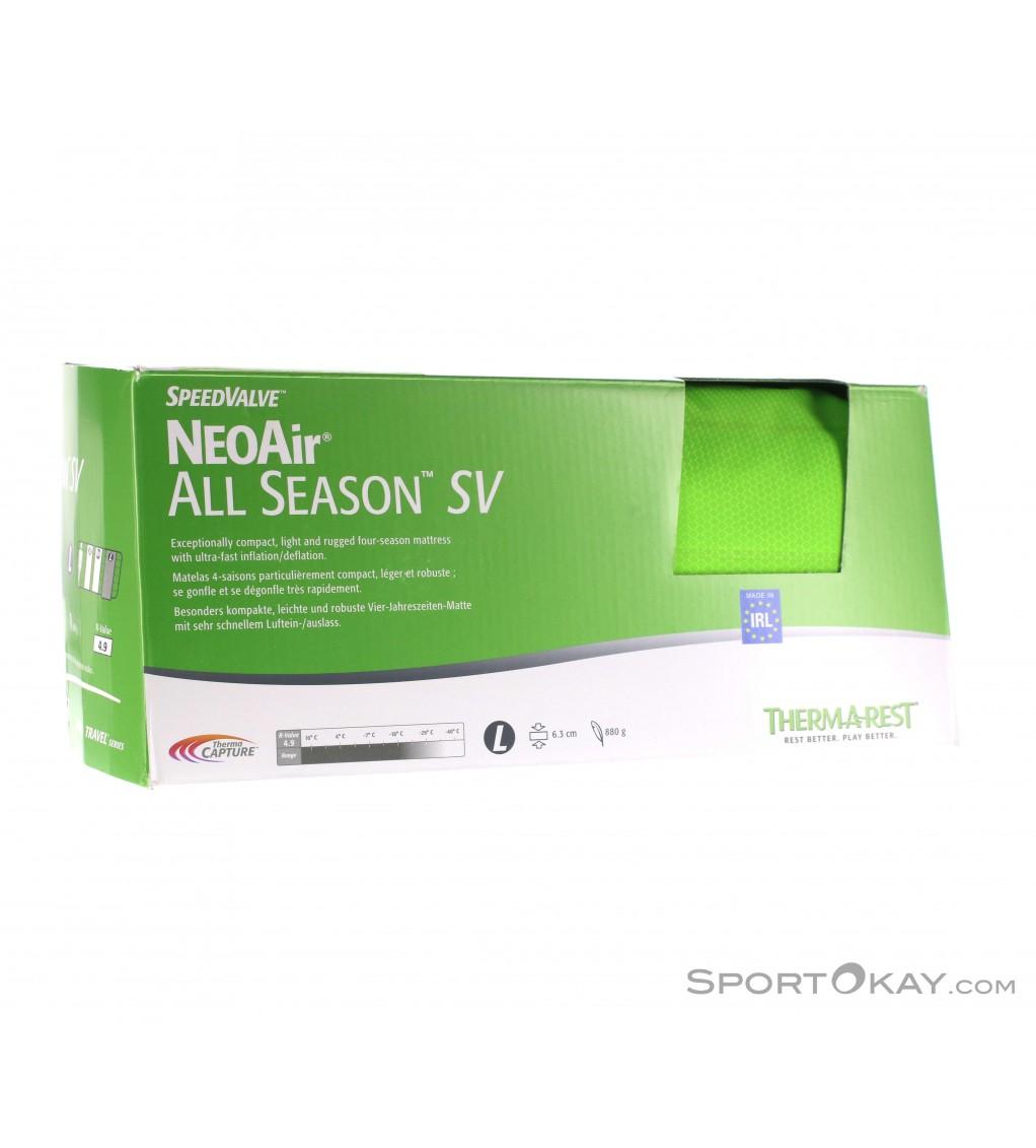 Therm-A-Rest NeoAir All Season SV Isomatte 4 Jahreszeiten mit neuem Quick-Ventil