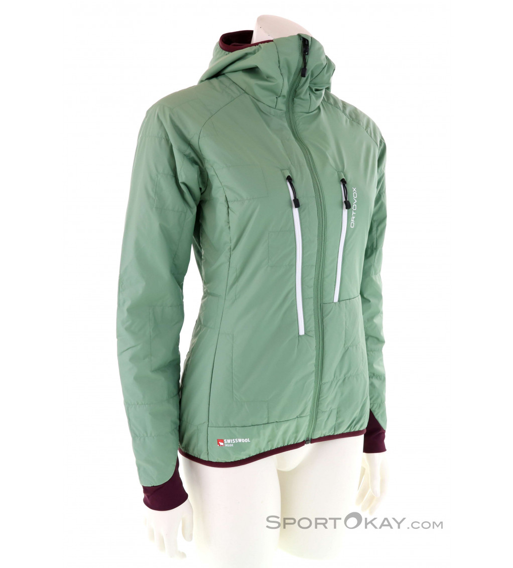 ORTOVOX SWISSWOOL PIZ BERNINA Outdoorjacke Damen