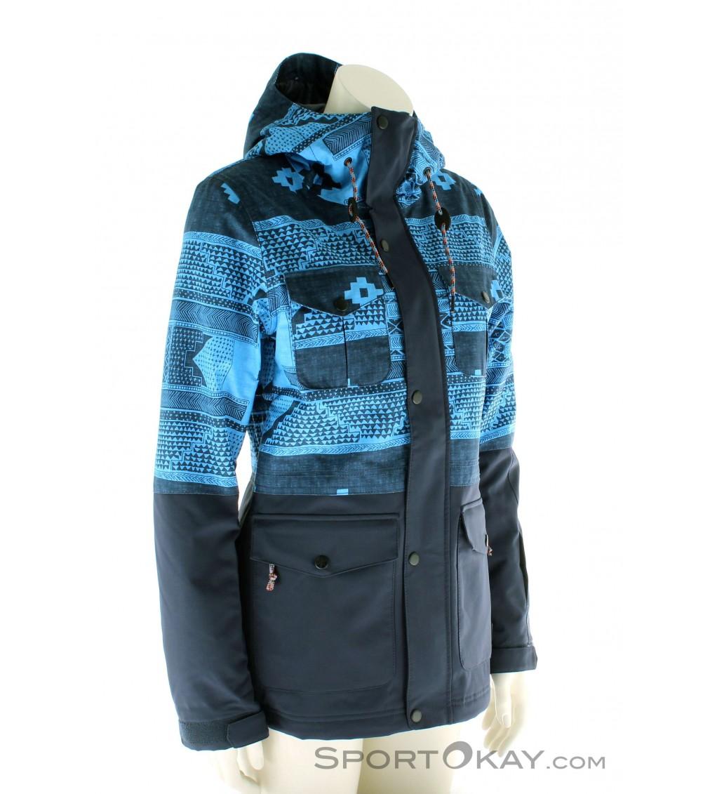 o 39 neill cluster jacket damen skijacke skijacken. Black Bedroom Furniture Sets. Home Design Ideas