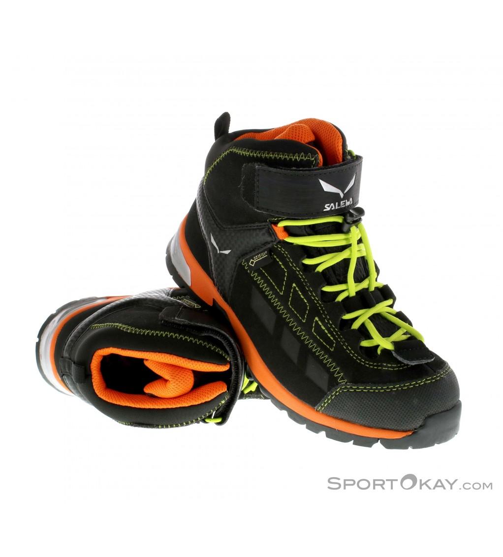 SALEWA Junior Alp Player Mid GTX Wanderschuh Trekkingschuh 29