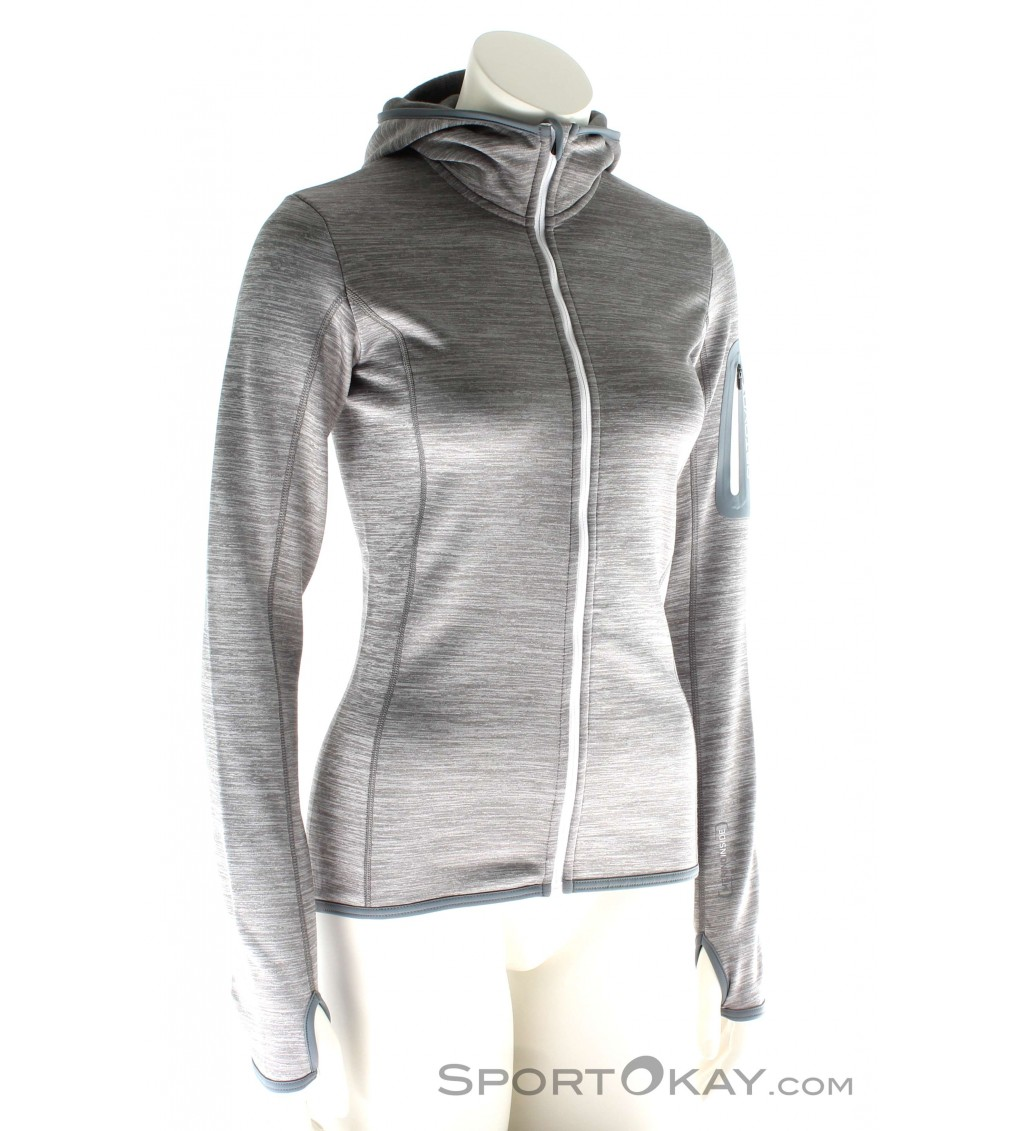 Ortovox Fleece Melange Hoody Damen Tourensweater