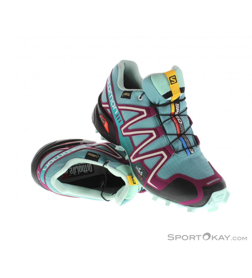 Salomon Salomon Speedcross 3 GTX Damen Traillaufschuhe Gore Tex