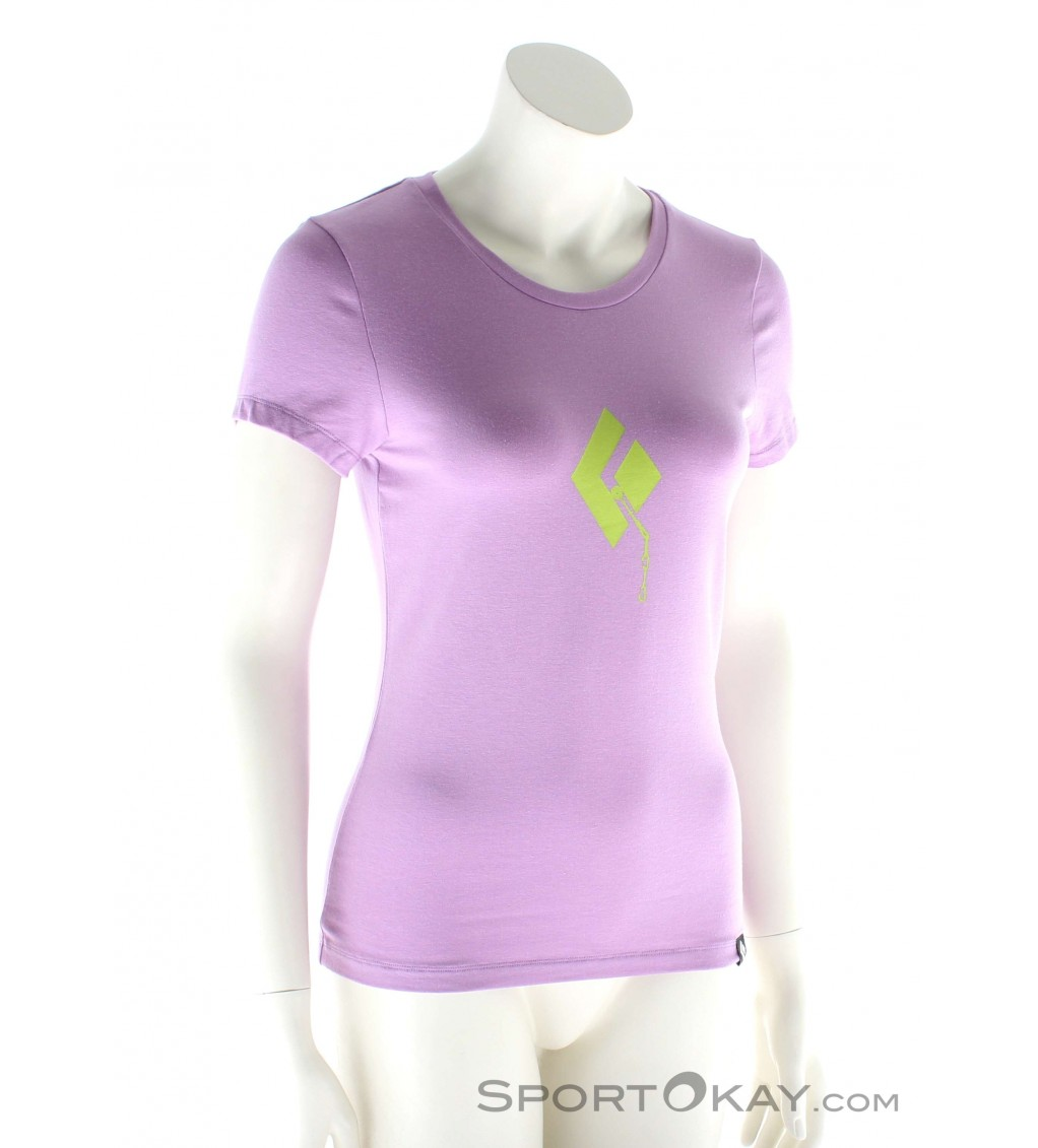 Black Diamond Placement SS Damen T-Shirt