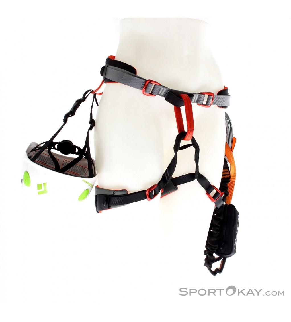 Black Diamond Easyrider Klettersteigpaket (Set, Helm, Gurt)