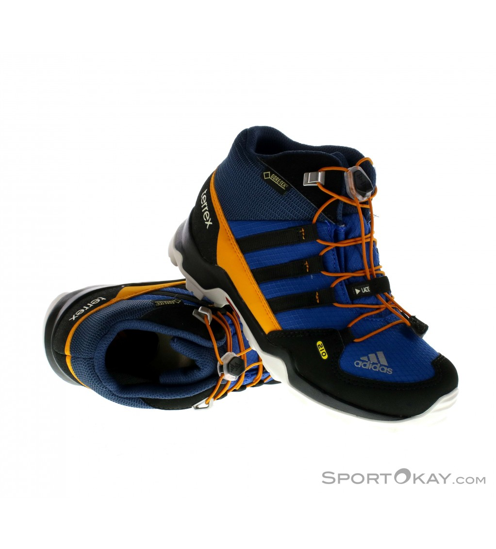 adidas terrex gtx mid kinder wanderschuhe gore tex. Black Bedroom Furniture Sets. Home Design Ideas