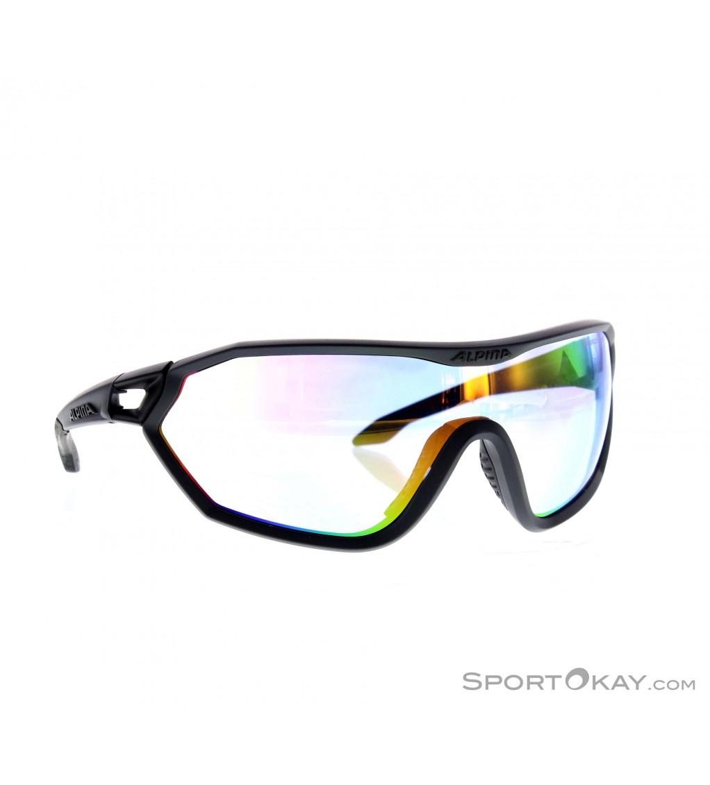 ALPINA Sonnenbrille S-Way VLM+ Varioflex schwarz eImCojtWzj