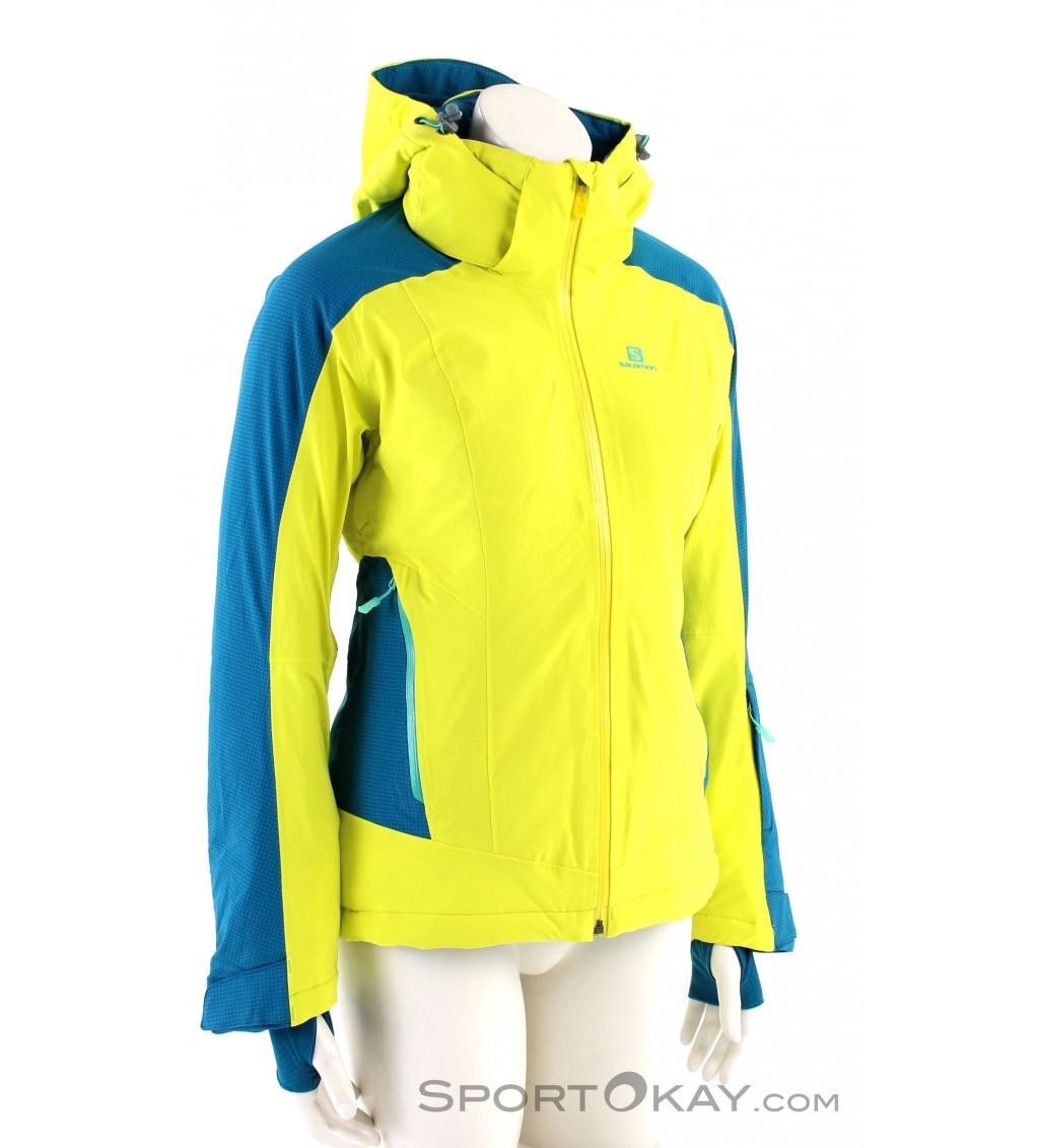 Salomon Salomon Brilliant Jacket Damen Skijacke