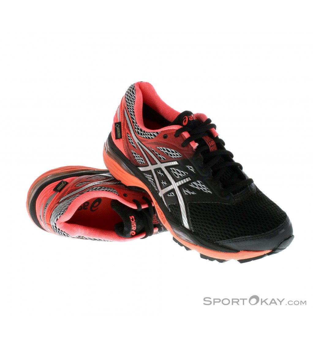 asics gel cumulus 18 gtx damen laufschuhe gore tex. Black Bedroom Furniture Sets. Home Design Ideas