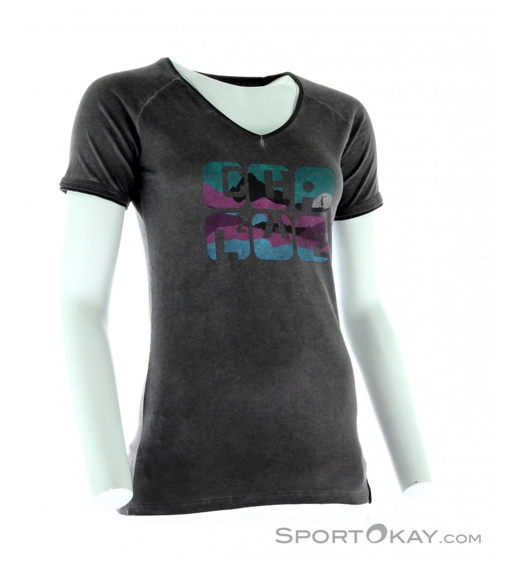 chillaz v neck shirt damen t shirt shirts polos freizeitbekleidung fashion alle. Black Bedroom Furniture Sets. Home Design Ideas