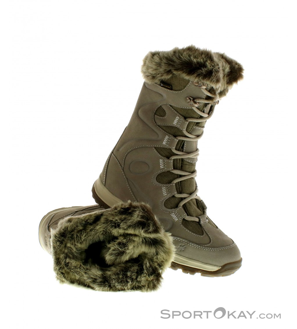 jack wolfskin glacier bay texapore high damen winterschuhe. Black Bedroom Furniture Sets. Home Design Ideas
