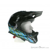 Airoh Fighters Trace Black Gloss Downhill Helm