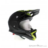 Airoh Fighters Com Yellow Downhill Helm