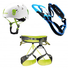 Camp Energy CR3 + Titan + Kinetic Gewind Pro Klettersteig Komplett-Set