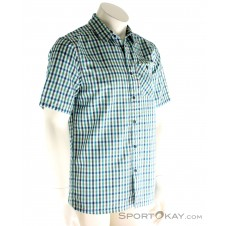 Vaude Albsteig Shirt Herren Outdoorhemd-Blau-S