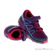 Salomon Speedcross CSWP K Kinder Traillaufschuhe-Lila-30