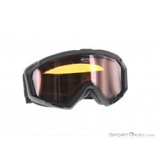 Alpina Panoma QH OTG Skibrille-Schwarz-One Size