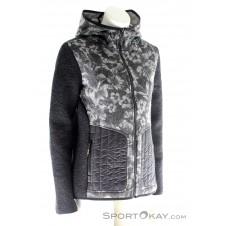 CMP Fix Hood Jacket Damen Freizeitjacke-Schwarz-36