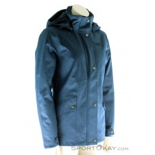 Jack Wolfskin Park Avenue Jacket Damen Outdoorjacke-Blau-S