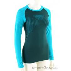 Dynafit Speed Dryarn L/S Damen Shirt-Blau-34