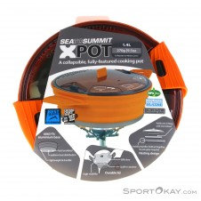 Sea to Summit XPot 1.4l Kochtopf-Orange-One Size
