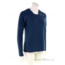 Ortovox Merinoterry Damen Shirt-Blau-S