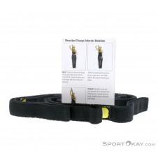 Thera Band 140cm Stretch Strap-Schwarz-One Size