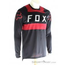Fox Flexair Jersey Herren Bikeshirt-Schwarz-M