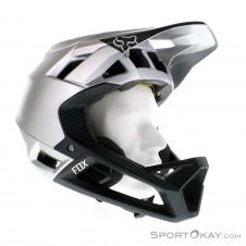 Fox Proframe Moth Helmet Downhill Helm-Grau-M