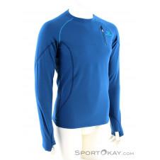 Elevenate Montee Crew Herren Shirt-Blau-S