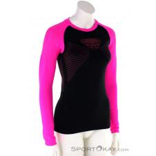 Dynafit Speed Dryarn L/S Damen Shirt-Pink-Rosa-XS