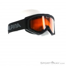 Alpina Spice DH Skibrille-Schwarz-One Size