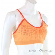 Red Chili Poca Seamless Damen Sport-BH-Orange-M/L