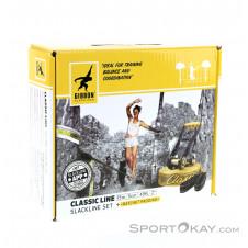 Gibbon Classic Line 50mm Slackline 15m-Gelb-One Size