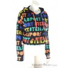 adidas Stellasport Printed FZ Hoody Damen Trainingssweater-Mehrfarbig-XS
