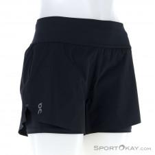 On Running Short Damen Laufshort-Schwarz-M
