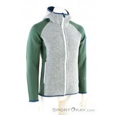 Ortovox Fleece Plus Classic Knit Hoody Herren Sweater-Grün-M