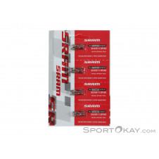 Sram PowerLock 4er Set 11-Fach Kettenschloss-Grau-One Size