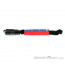 Abus Tresor 1385 75cm Neon mit Zahlencode Fahrradschloss-Schwarz-One Size