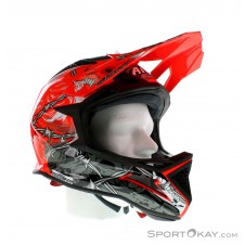 Airoh Thorn Fighters Downhill Helm-Orange-L